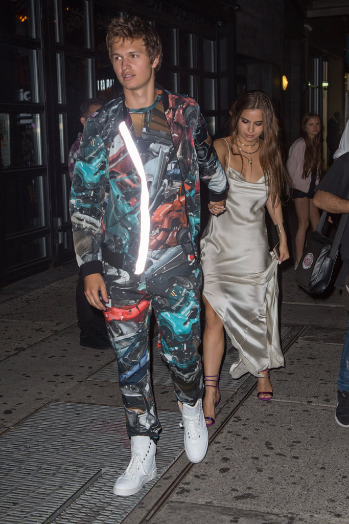 VMA After Party Ansel Elgort