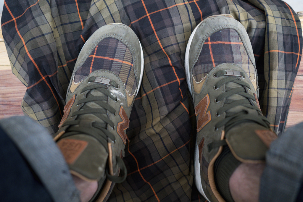 Ball and Buck x New Balance 585