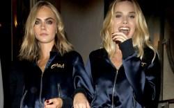 Cara Delevingne and Margot Robbie Suicide