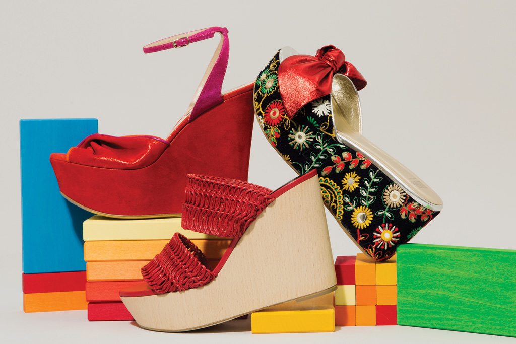 Perfect Wedges For Spring Weather