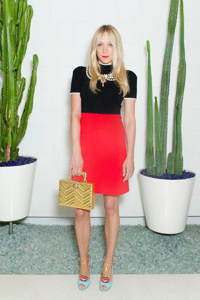 Chloë Sevingy Celebrity Statement Shoes August 2016