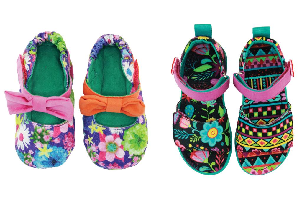 Chooze Mismatched Kids Shoes
