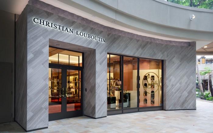 Christian Louboutin Store Opening Hawaii