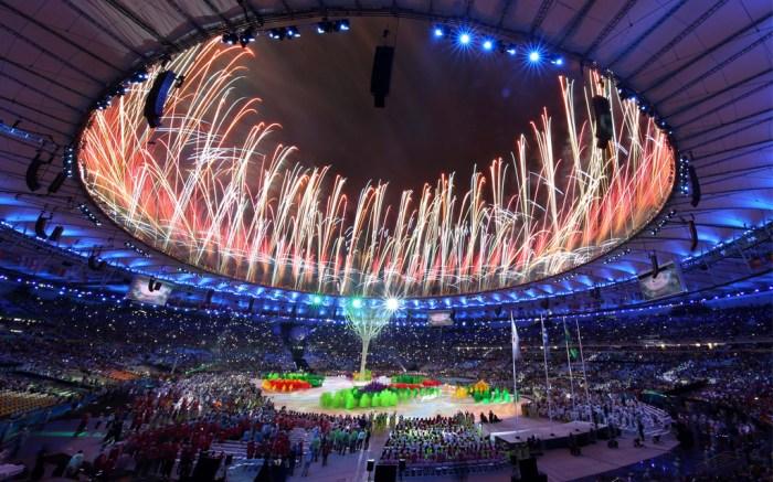 The Rio de Janeiro Olympic Games closing ceremony.