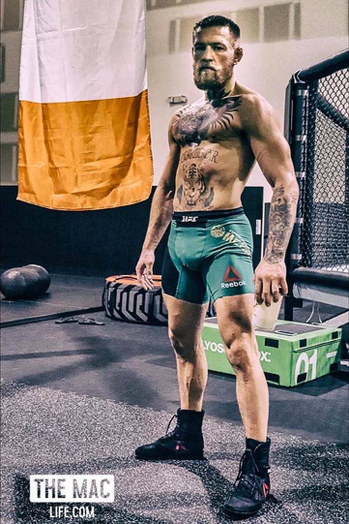 Conor McGregor Reebok Boxing Boot - Buck