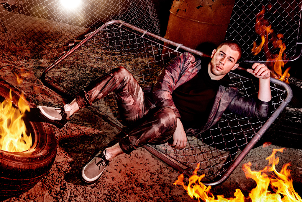 Nick Jonas Creative Recreation Castucci Fall '16