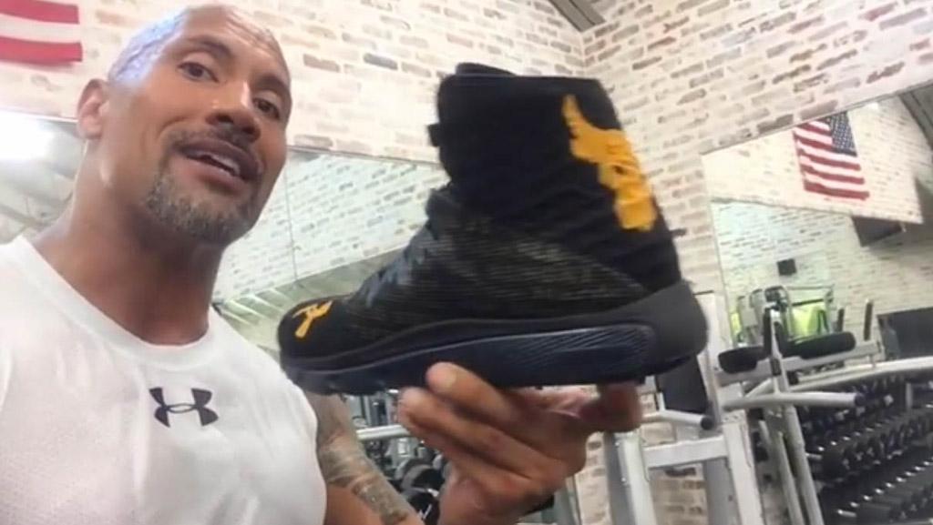 Dwayne Johnson Previews His New 'Rocks