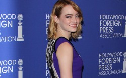Emma Stone Celebrity Statement Shoes August