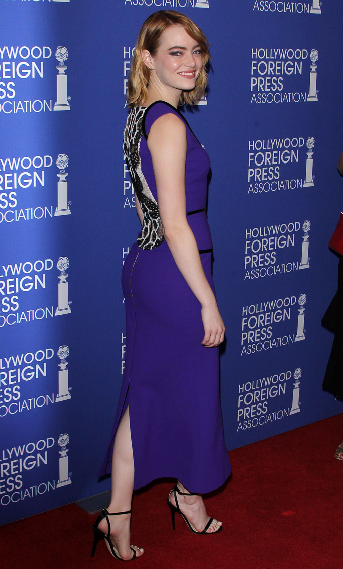 Emma Stone Celebrity Statement Shoes August 2016