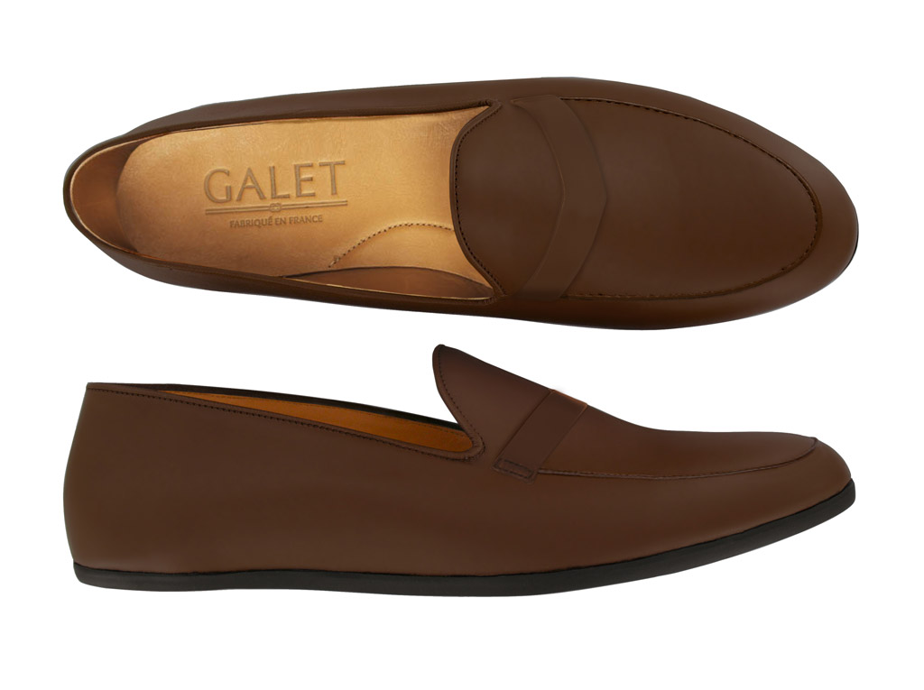 galet penny loafer