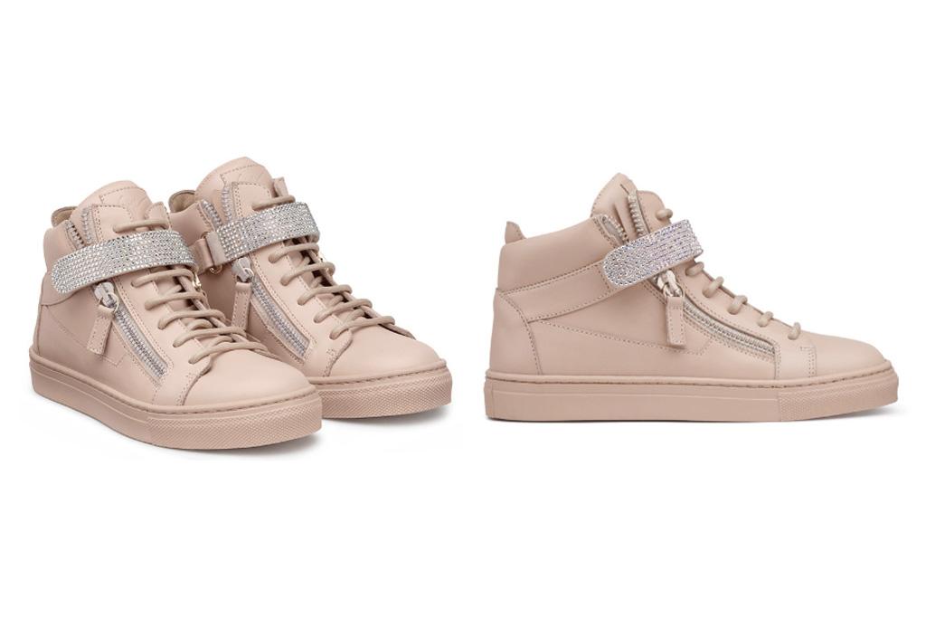 Blue Ivy Giuseppe Zanotti Dolly Sneakers