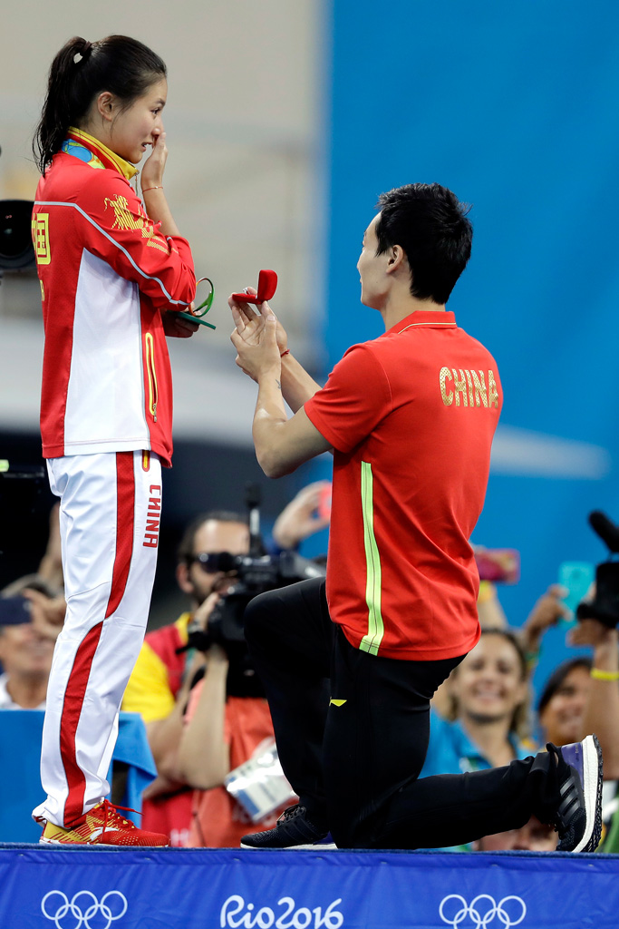 Rio Olympics Qin Kai He Zi
