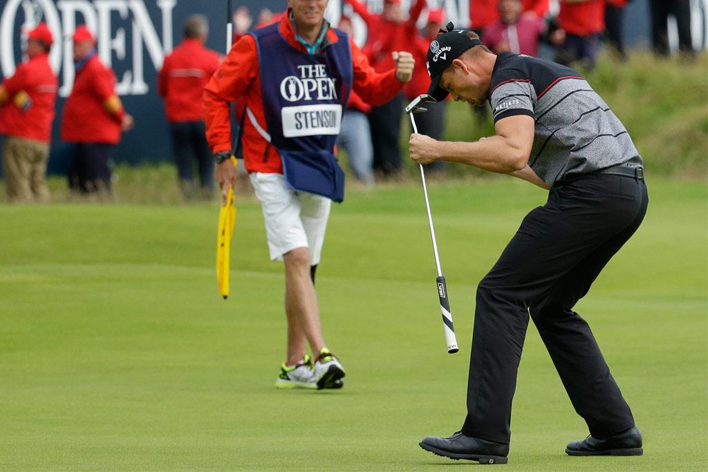 British Open; Henrik Stenson