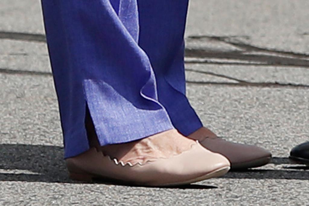 Hillary Clinton Chloé Ballet Flats