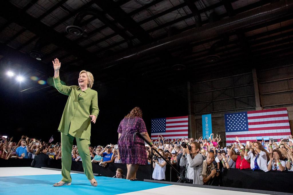 Hillary Clinton Shoe Style
