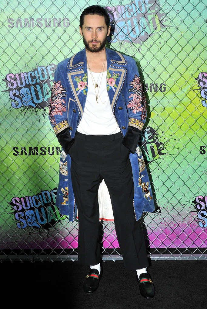 Jared Leto Celebrity Statement Shoes August 2016