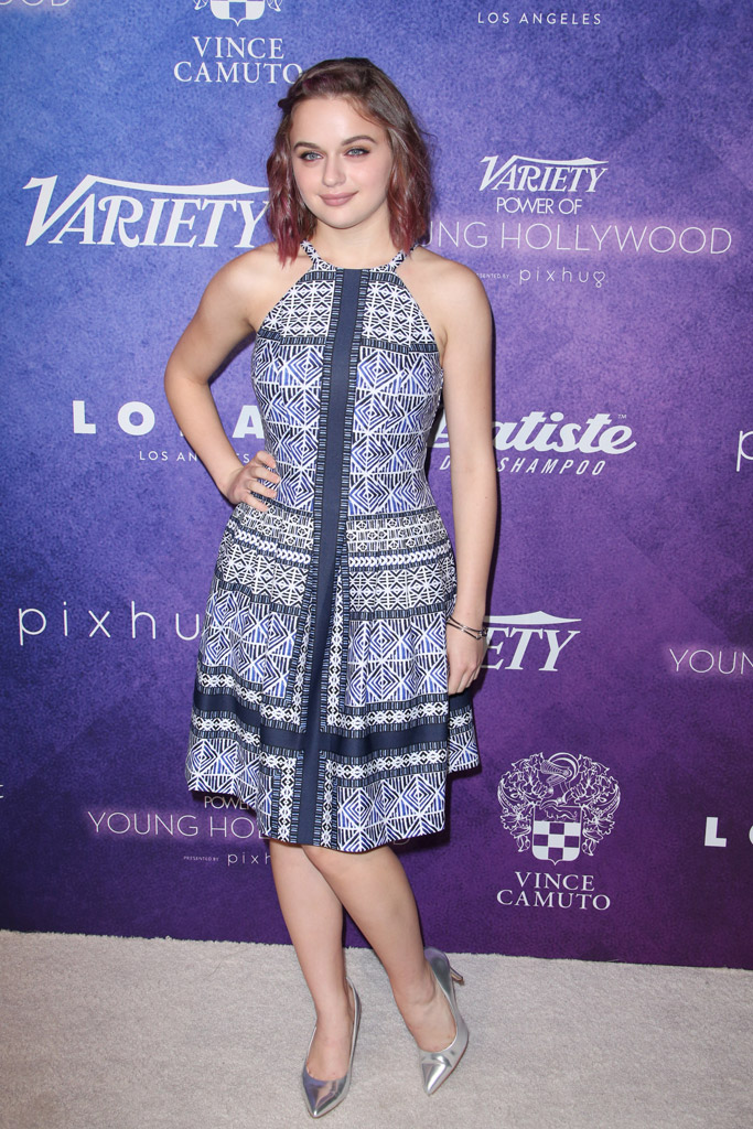 Joey King Celebrity Statement Shoes August 2016