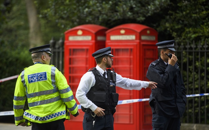 London Knife Attack Police