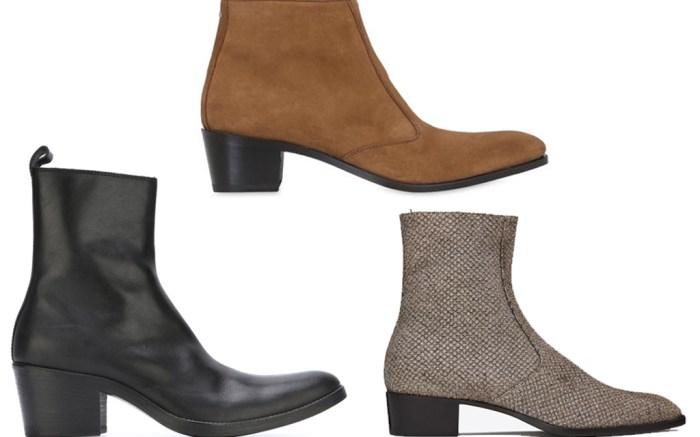 mens heeled boots