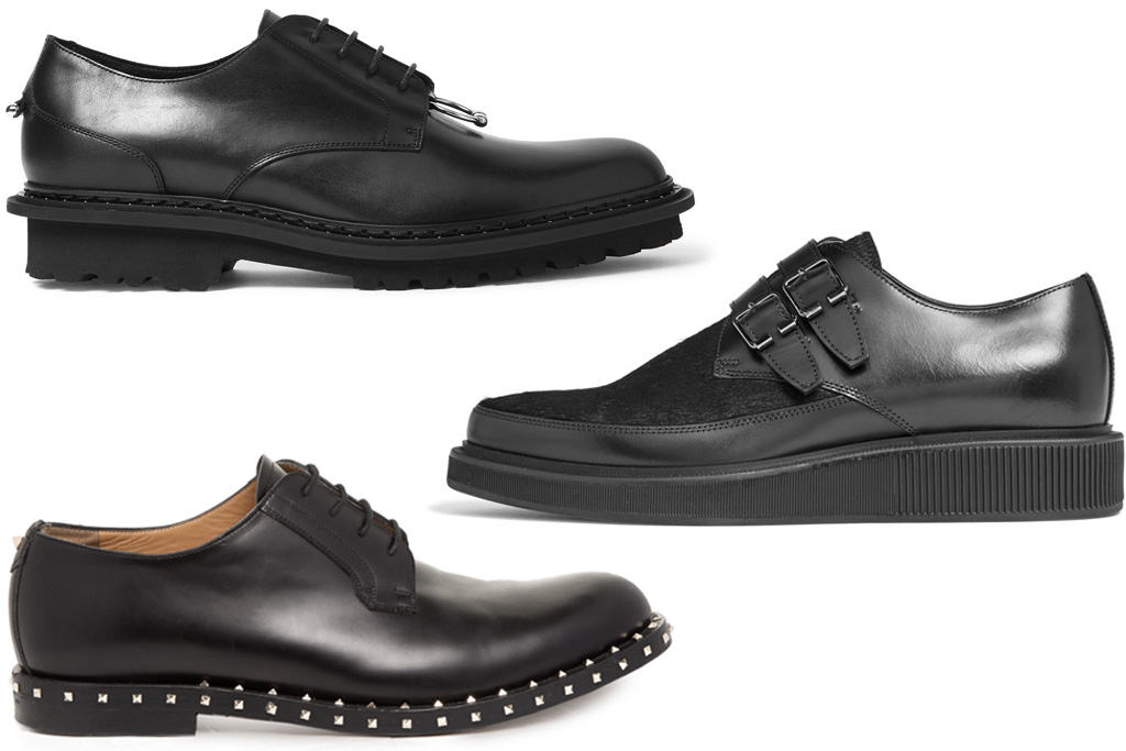 punk dress shoes