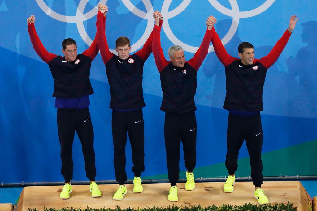 Michael Phelps Rio Olympics Gold Medal