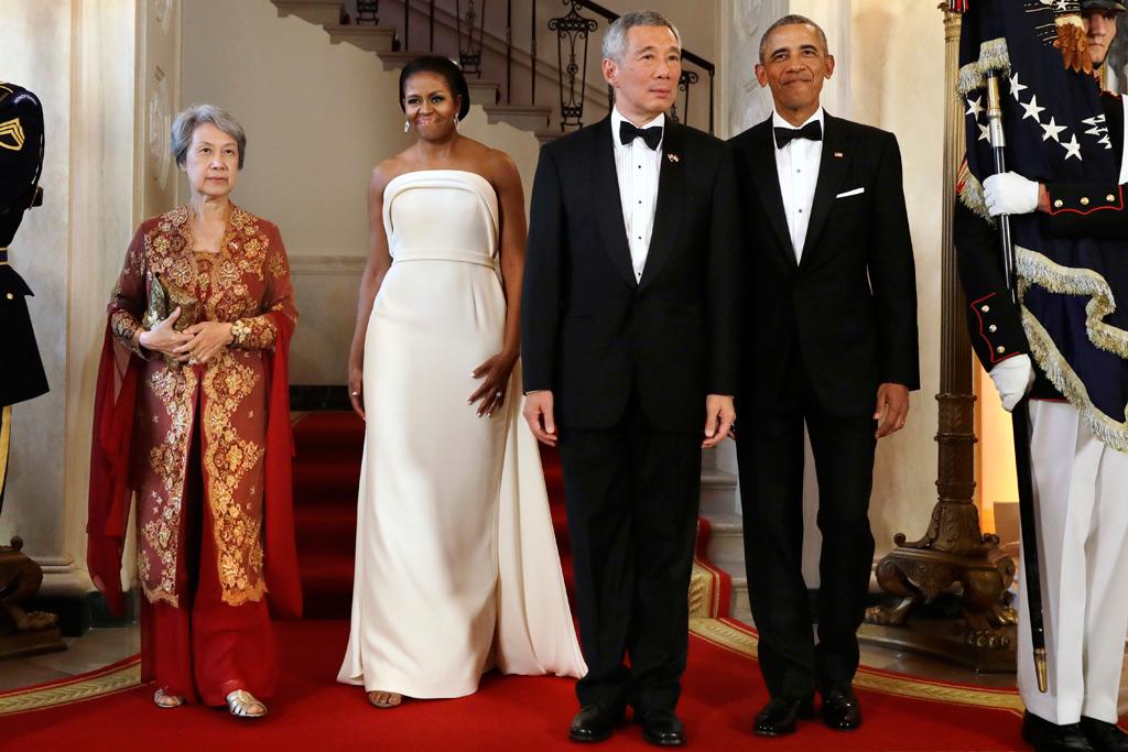 Michelle Obama Singapore State Dinner