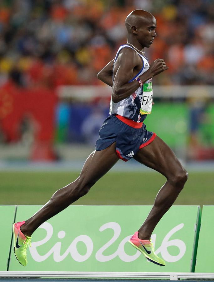 Mo Farah Wins Gold At Rio Olympic Games