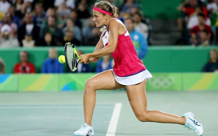 Petra Kvitova monic puig puerto rico asics tennis rio olympic games Angelique Kerber gold medal
