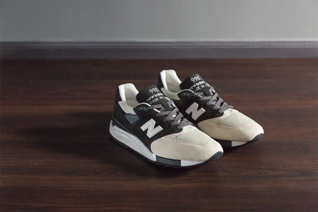 Todd Snyder New Balance Black And Tan NB1 998