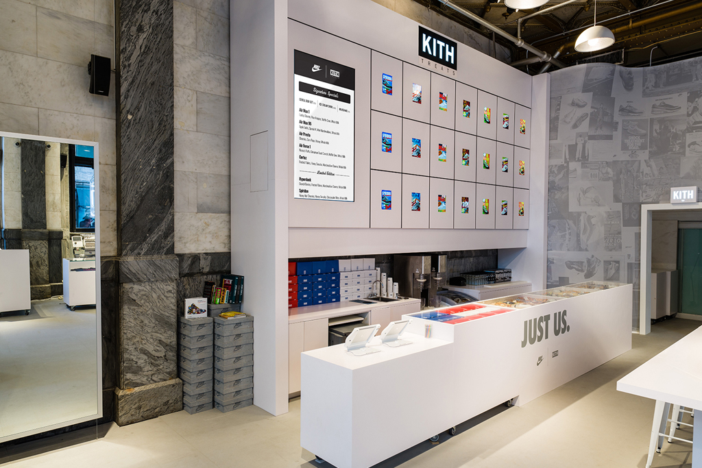 Kith and Nike's pop-up shop designed by Snarkitecture for the 2016 Rio Olympics.