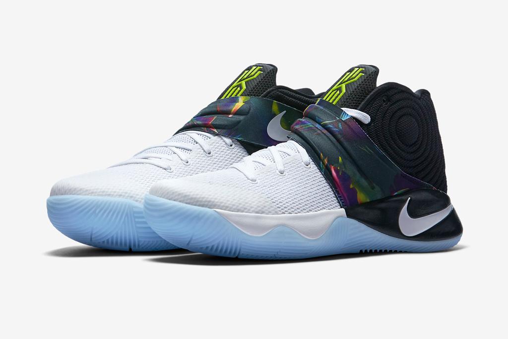 LeBron James Jr. Nike Kyrie 2