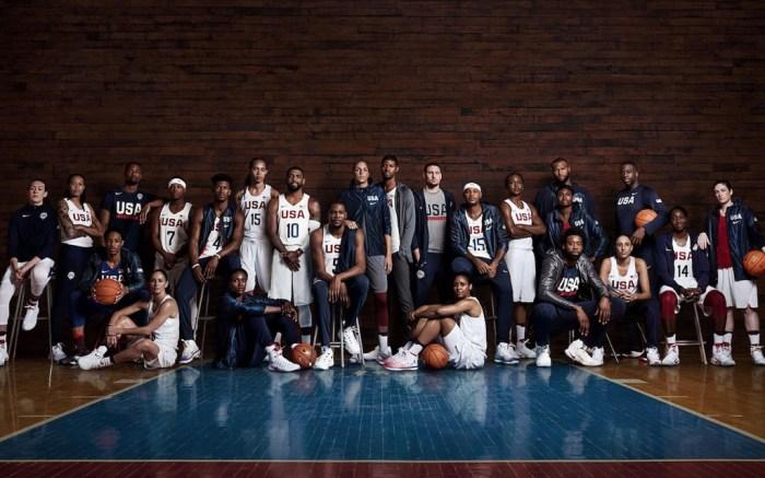 Team USA Basketball Nike