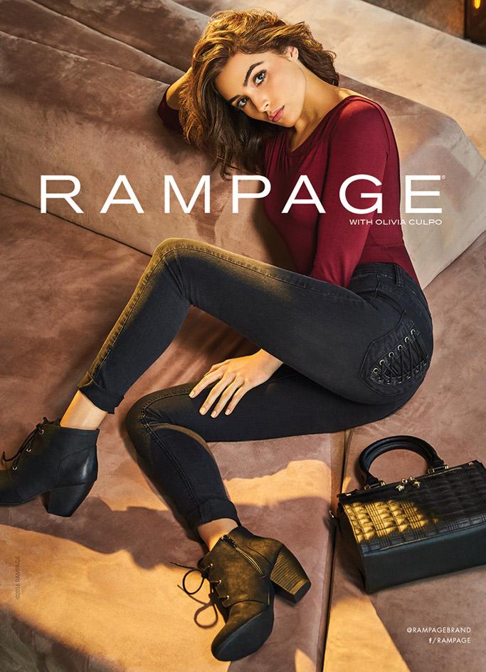 Olivia Culpo Rampage Ad Campaign