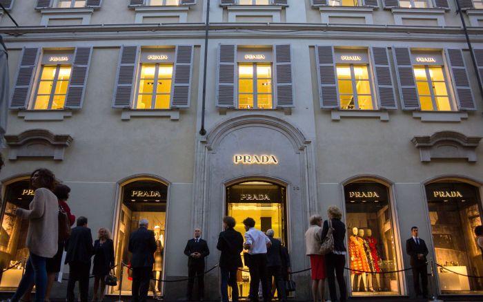 Prada, Turin, Italy