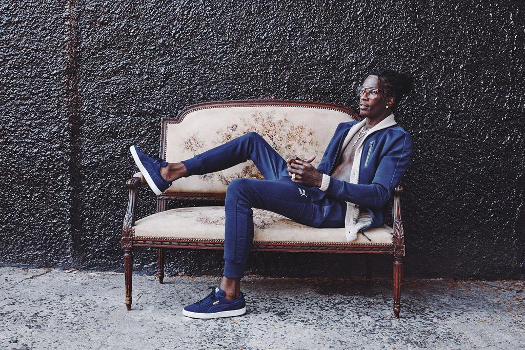 young thug puma classics sneakers