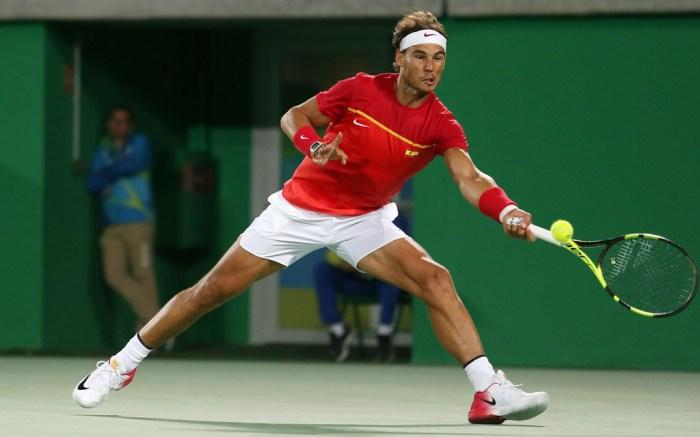 Rafael Nadal Wins Gold In Olympic Tennis Doubles Match Wearing Nike Footwear News
