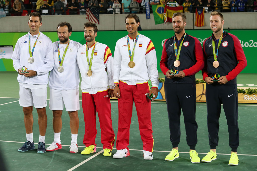 rafael nadal olympics rio 2016 gold medal tennis nike sneakers