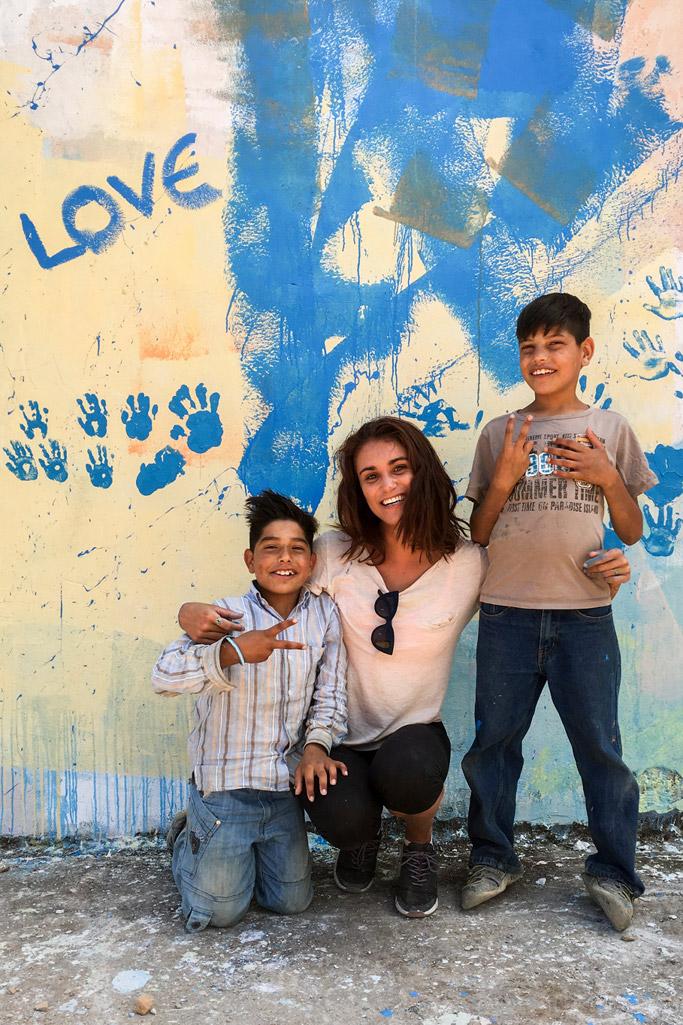 Oinofyta refugee camp greece reef ambassadors