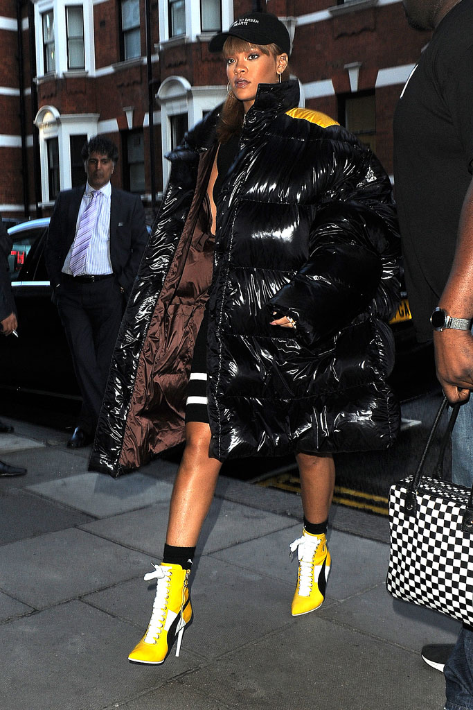 Rihanna Puma Heeled Boots