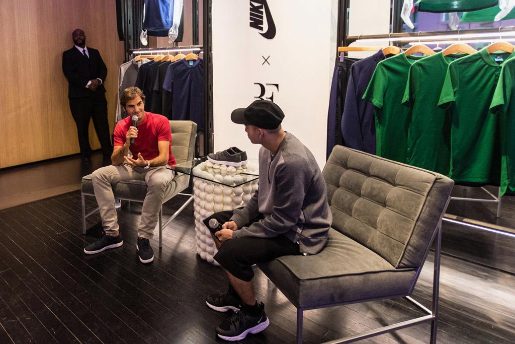 Roger Federer NikeLab Collection