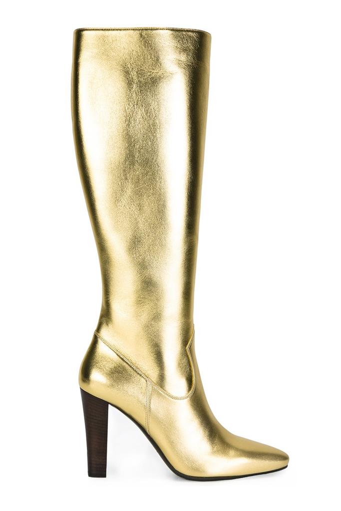 saint-laurent-gold-metallic-boots