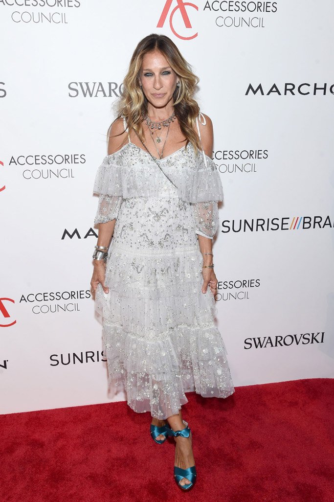 Sarah Jessica Parker Ace Awards Red Carpet 2016