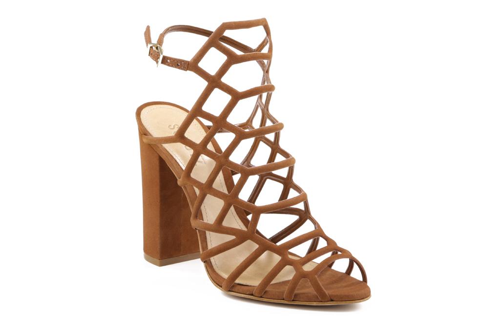 Schutz Juliana cage sandal.