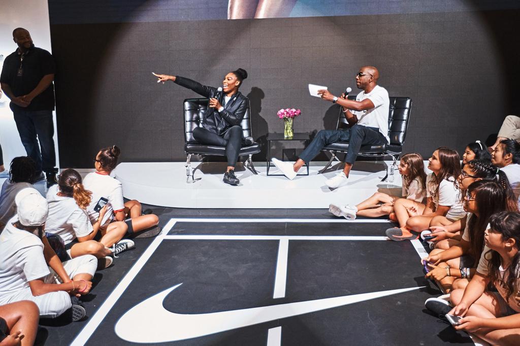 Serena Williams J.B. Smoove Niketown