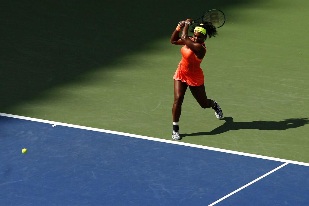 Serena Williams at the 2015 U.S. Open