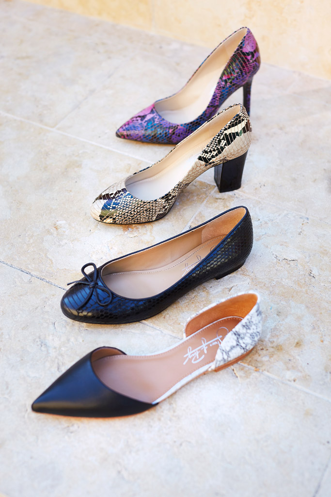 shoes of prey snakeskin leather