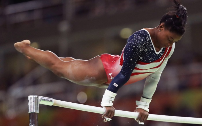US Gymnast, Simone Biles