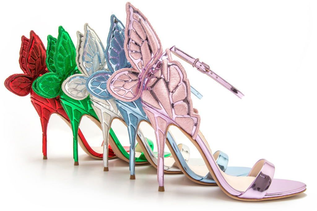 Sophia Webster Level Shoe District Chiara Butterfly Sandals