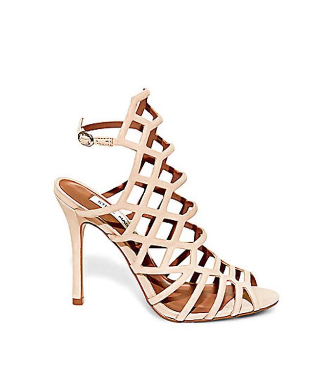 steve madden slithur caged heels