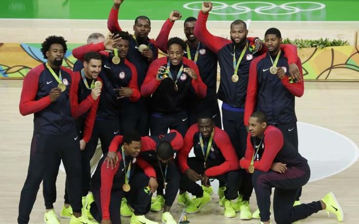 carmelo anthony nike rio olympics gold medal basketball team usa